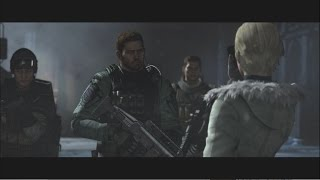 Resident Evil 6 HD Remaster - Chris Redfield/Piers Nivans: Chapter 2 | PS4 Gameplay