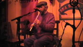 Irish Music- the tin whistle played by Ger Carthy at the Crane Bar, Galway City, Ireland.