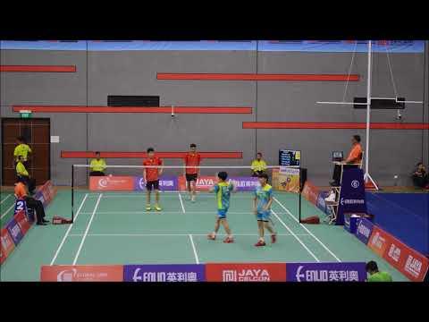 Badminton Asia Junior Championships 2017 (MD U19) HongKong VS Korea