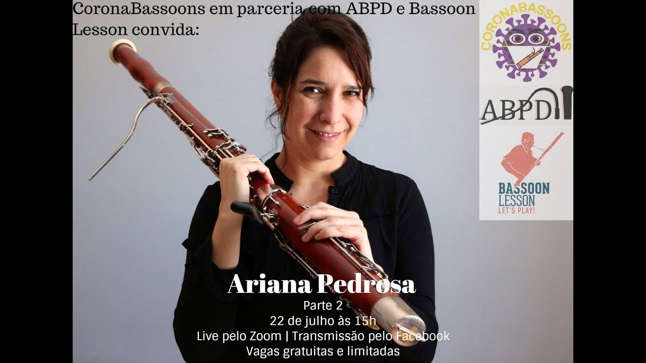 Live com a professora Ariana Pedrosa - Tema: Choro