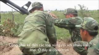 what does a full military exercise of Vietnamese like?
