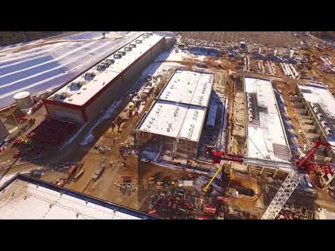 ITER by drone (December 2017)