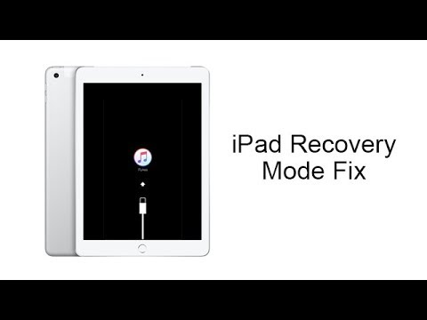 IPad Stuck In Recovery Mode And Won't Restore? New 2020 Solution.