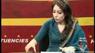 sharmeela Farooqi unsuccessfully defends president zardari in Newsline with shahzeb khanzada Part 04