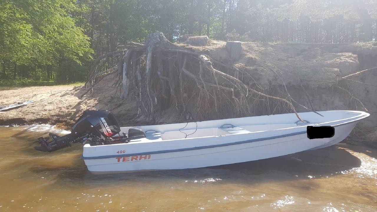 Лодка Yukona 260GT + мотор Yamaha 3 л.с. = ГЛИССИРОВАНИЕ - YouTube