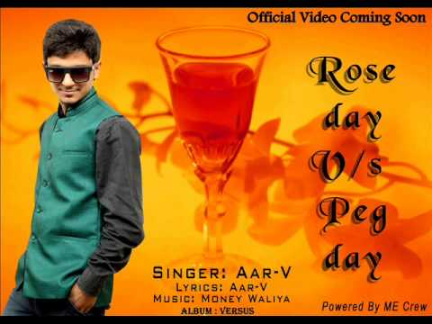 Rose Day Vs Peg Day Ft. Aar-V | Audio Song | Valentines 2014 Special