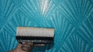 How to Create Sheshale Effect/Design Royale Play asianpaints ||  Wall Texture || Interior Decoration