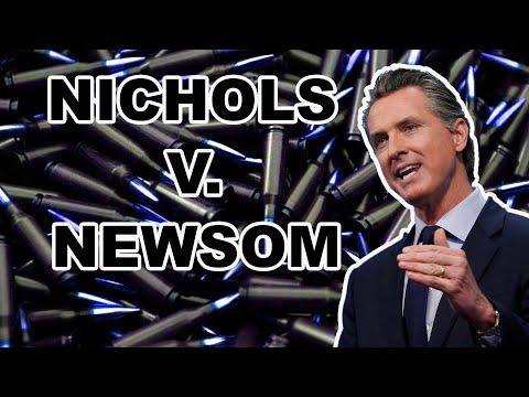 OPEN CARRY COMING TO CALIFORNIA . . . Nichols v. Newsom!!!