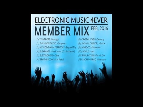 ELECTRONIC MUSIC 4EVER - Members Mix Vol.1  (Feb 2016)