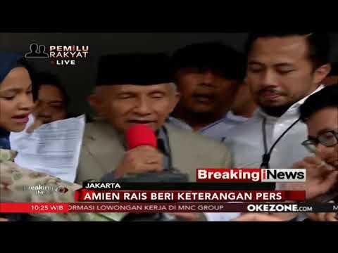 Detik-Detik Amien Rais Memasuki Polda Metro Jaya Untuk Pemeriksaan Terkait Hoaks Ratna Sarumpaet