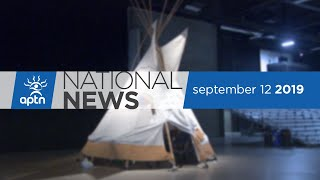 APTN National News September 12, 2019 – Elders gather in Winnipeg, Nunavut man and his machines