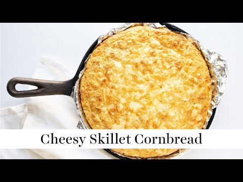Cheesy Skillet Cornbread | Summer BBQ Series