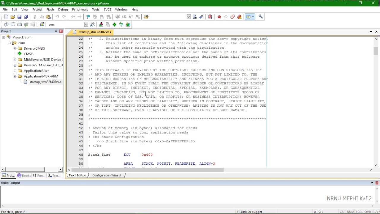 USB virtual com port for STM32F4 Discovery