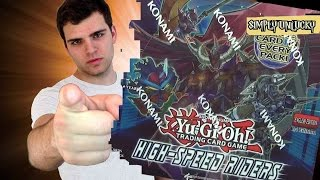 Best Yugioh High Speed Riders 1st Edition Booster Box Opening! 5DS Returns, OH BOY!!