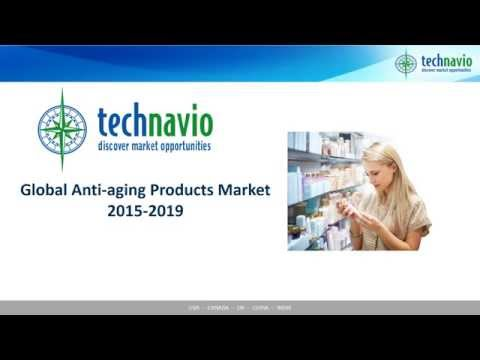 Global Anti-aging Products Market 2015-2019