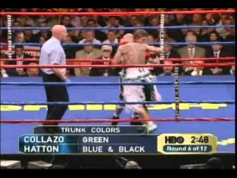 Ricky Hatton vs Luis Collazo