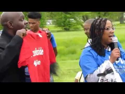 Chandler Park Family, Fun and Fitness Day Part ONE... Detroit, Michigan