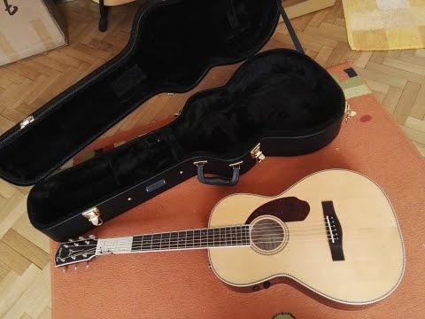 Fender Paramount PM-2 Standard Parlor Guitar - Unboxing video