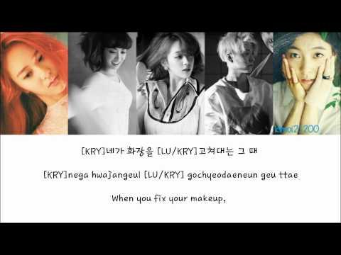 f(x) - Step [Hangul/Romanization/English] Color & Picture Coded HD