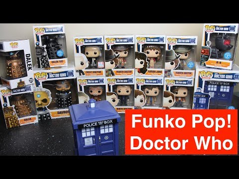 Doctor Who Funko Pop figure Collection - My Perfect Collection - By a Doctor Who fan on a budget!