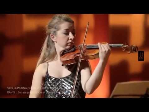 RAVEL : Sonate pour violon et piano / Vera LOPATINA, violon, Olga KIRPICHEVA, piano