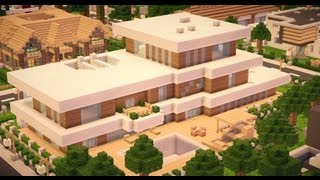 Minecraft - Modern House #003 [HD][Download]