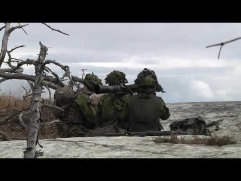 BALTOPS 2016: Swedish Marines Amphib Assault on Uto, Sweden (B-roll)