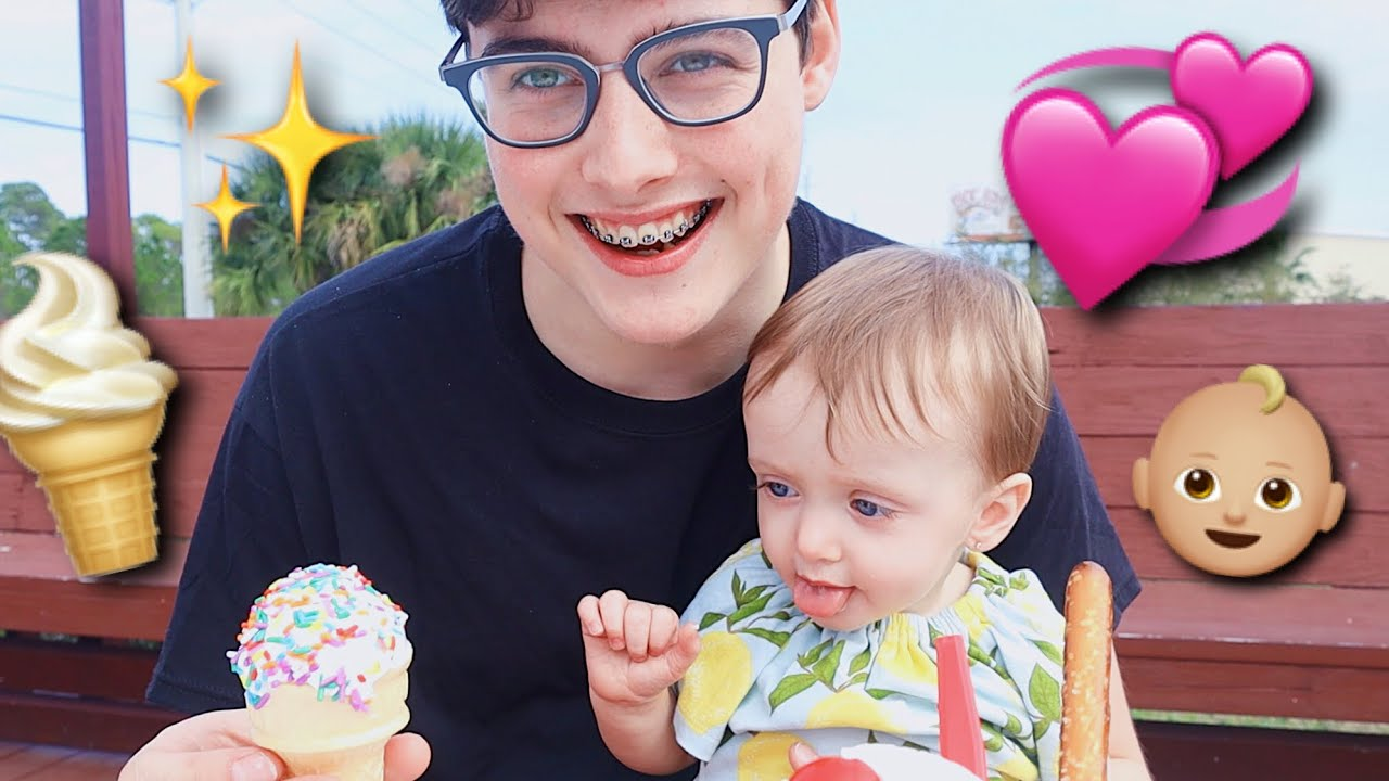 Daddy Daughter Date Cuteness Overload  Teen Dad Vlog - Youtube-3820