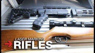 Laser Engraving Rifles | Laser Marking Guns | SpeedMarker 1300