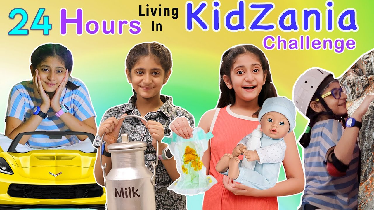 Download 24 Hours KIDZANIA Challenge | Role Play l MyMissAnand
