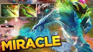 Miracle- IMBA Morphling Steal Master Gameplay - 7.07c Dota 2