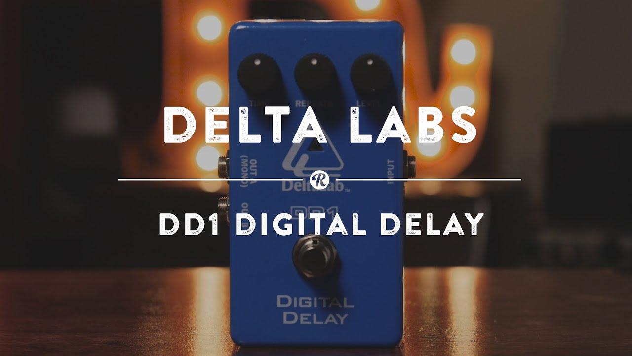 delta labs dd1 digital delay reverb demo video youtube