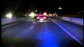 DRUNK DRIVER PASSES OUT ON INTERSTATE!