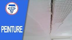 Comment réparer les fissures d'un plafond
