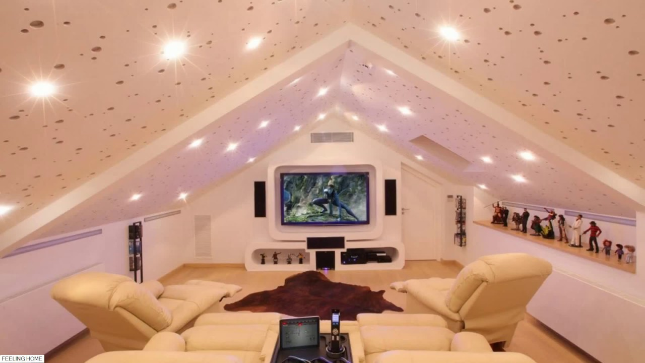 ☑️ Top 25 LED Ceiling Lights Ideas - Bedroom, Living Room, Home Theater