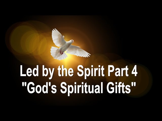 Led By the Spirit Part 4 - God's Spiritual Gifts: John 3:16 C.C. Sunday  Service  Stream 2/7/2021
