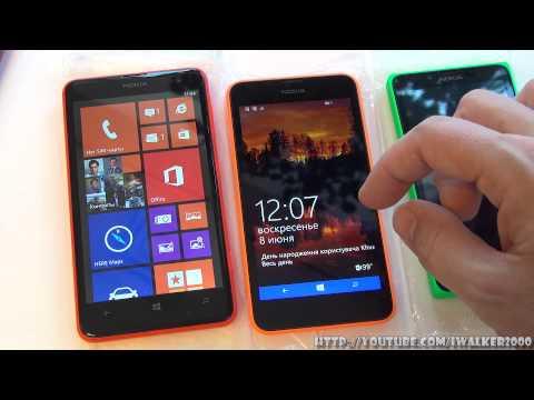 ГаджеТы: краткое сравнение Nokia Lumia 625, Nokia Lumia 630 Dual SIM и Nokia X Dual SIM