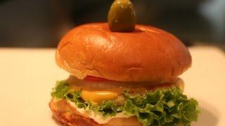 How To Make Chicken Burger-  VIDEO RECIPE