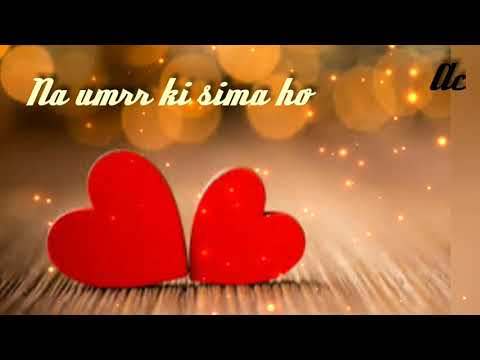 Hothon Se Chhu Lo Tum.. 2nd Stanza..Na Umrr Ki Sima Ho... By Asish..