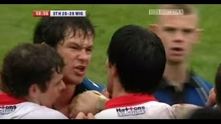 St Helens v Wigan - Good Friday Brawl 2004