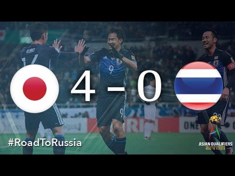 Japan Vs Thailand (Asian Qualifiers - Road To Russia)