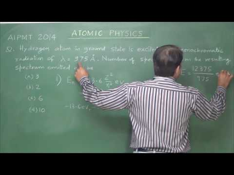 NEET/AIPMT Atomic Physics  (past 10 year's problems with Revision)