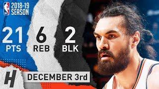 Steven Adams Full Highlights Thunder vs Pistons 2018.12.03 - 21 Pts, 6 Reb, 2 Blocks!