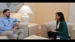 Entrevista a Isabel Díaz Ayuso.