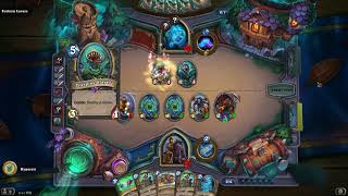 Hearthstone The Witchwood Monster Hunt Houndmaster Win2 Challenge 6