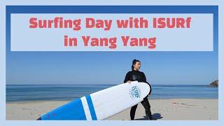 """Surfing day in YangYang (Kore…"