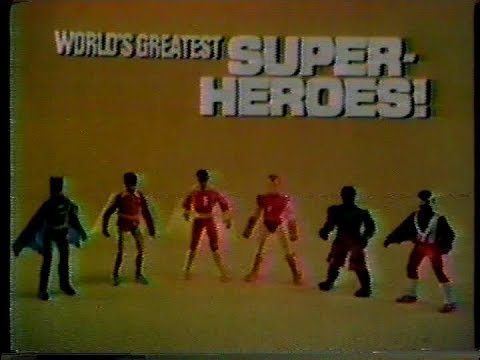 Worlds Greatest Super Heroes Commercial Mego 1976