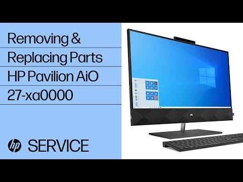 Service Teardown: HP Pavilion All-in-One - 27-xa0000 | HP Computer Service | HP