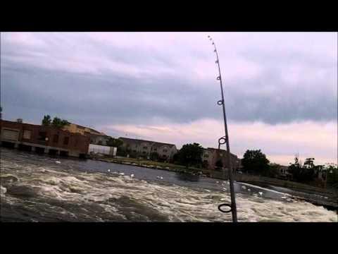 Fishing The Menasha Dam