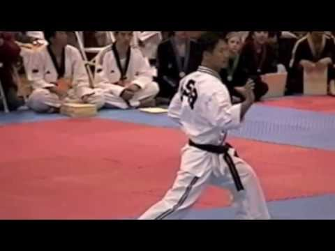 Master Hyun Il Kang Taekwondo Demo